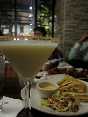Key lime pie martini at PF Chang's