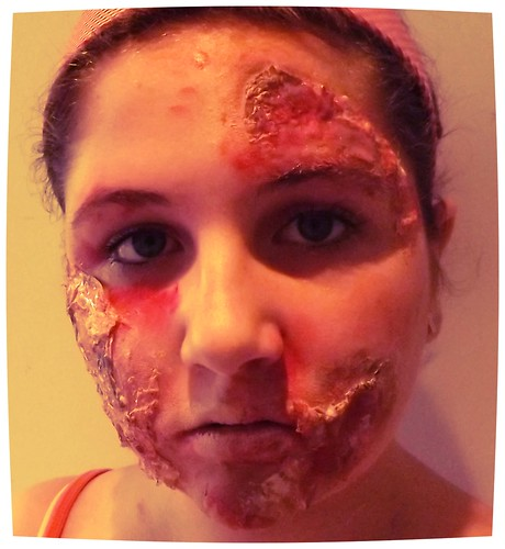 Special effects make up - halloween zombie