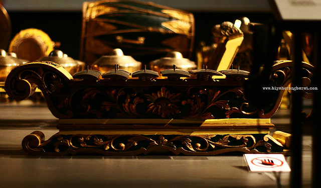 Gambang Javanese Xylophone asian civilisations museum
