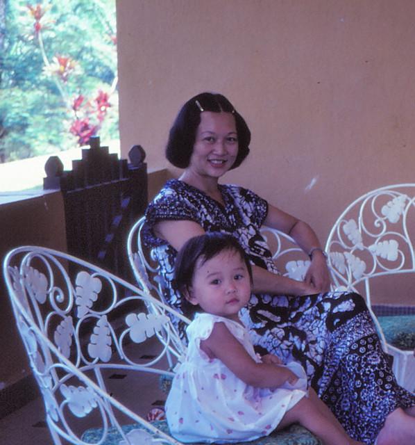 1981 - Mum & me, Pamol