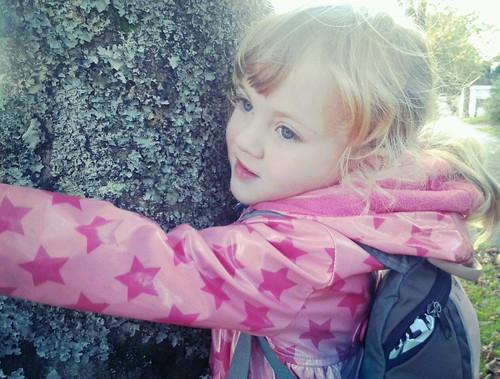 Tree hugger by nualacharlie