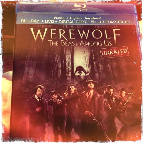Time to watch Werewolf the Beast Among Us. @officialedquinn