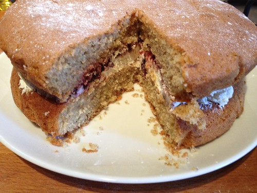 Victoria Sandwich by Mary Berry