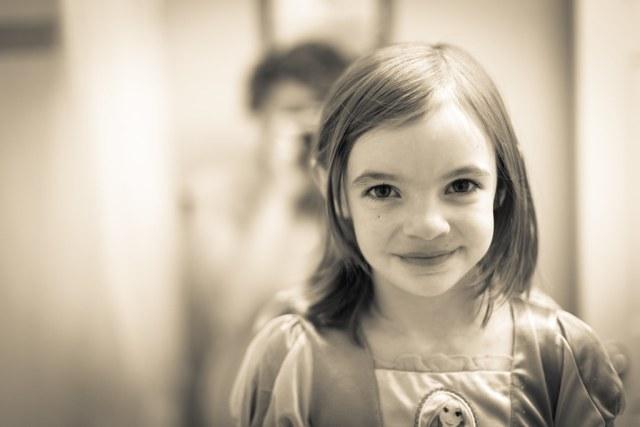 1/52/Portrait - Awaiting to brush her teeth.