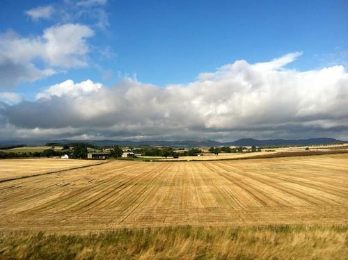 To Glasgow - Train view