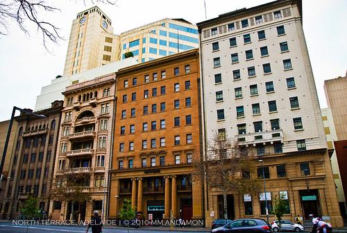 North Terrace (Adelaide, SA) building facades