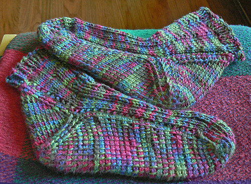 socks flat