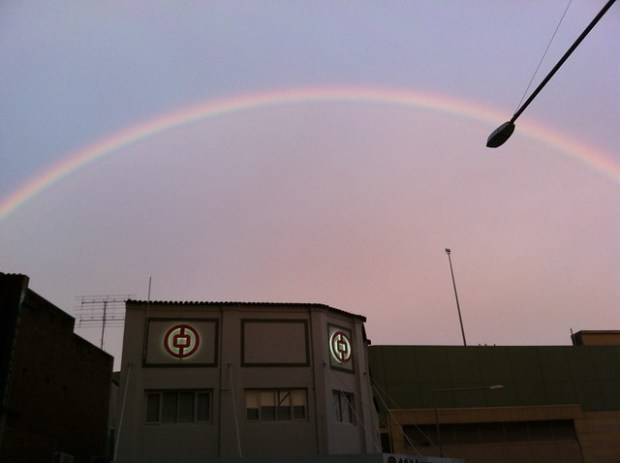 Rainbow in the Morning
