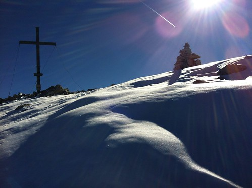 Almerhorn Gipfelkreuz 2.986 m