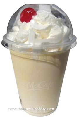 McDonald's Egg Nog Shake