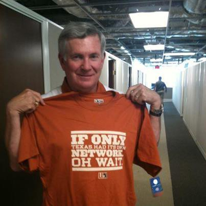 Mack Brown and LHN T-shirt
