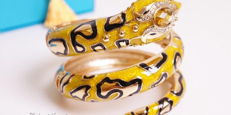 ● Anna Dello Russo x H&M ‧ 金黃蟒蛇來報到