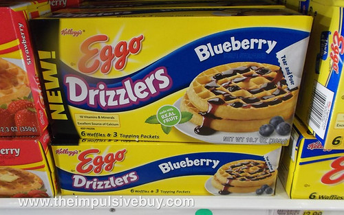 Eggo Blueberry Drizzlers