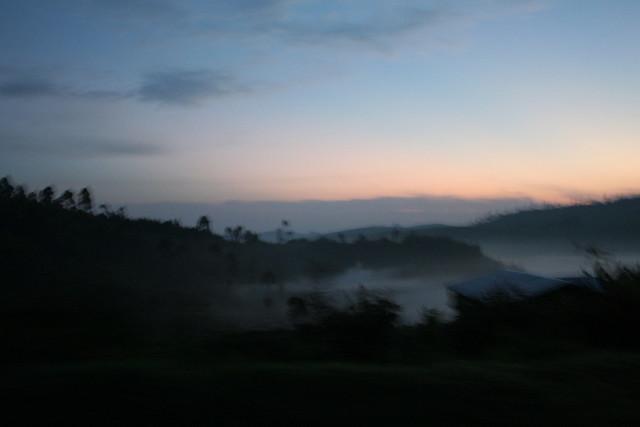 sunrise car ride 7