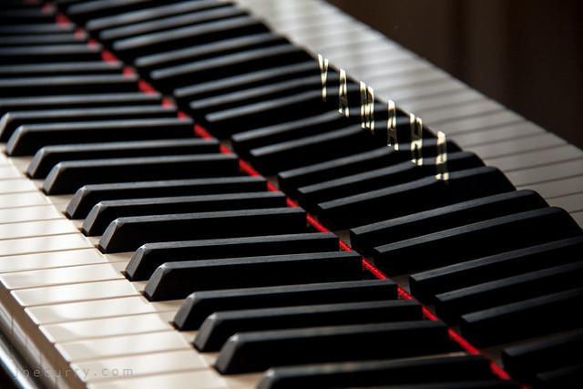 Yamaha grand piano keys