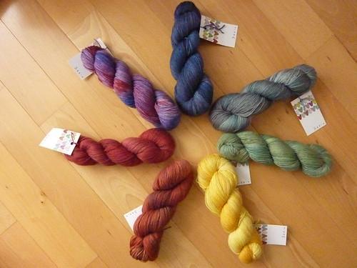 skein yarns - top draw sock
