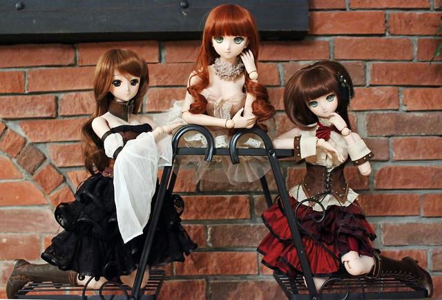 Serena, Leone and Sidonie