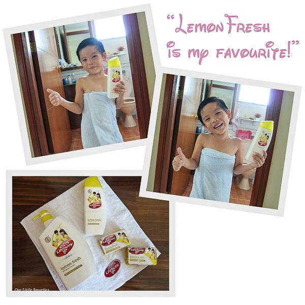 Edison loves Lemon Fresh!