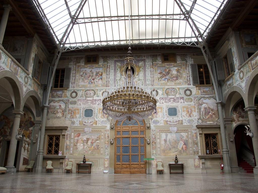 Interior of the Villa La Petraia, Firenze