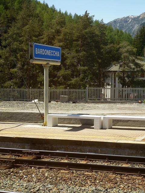 Paris-Florence - Gare de Bardonecchia