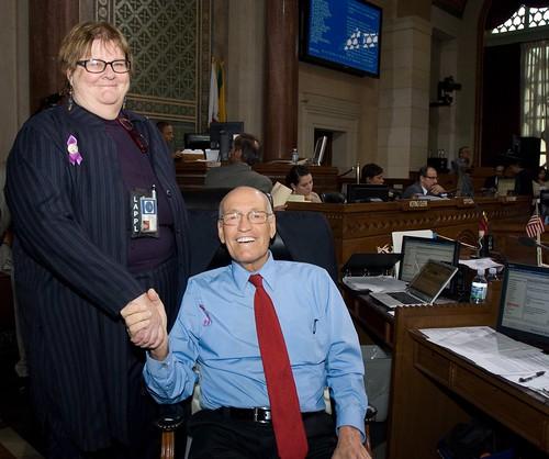 Venetian Carol Tantau Honored for Work on Domestic Violence Task Force