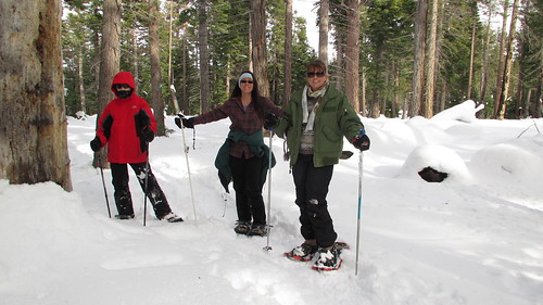 Snowshoeing at Taylor Creek SNO-PARK