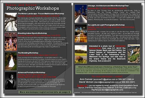 2013 Winter - Spring Photo Workshops