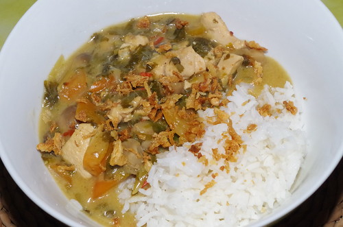 Thai seven-spice chicken with holy basil by La belle dame sans souci