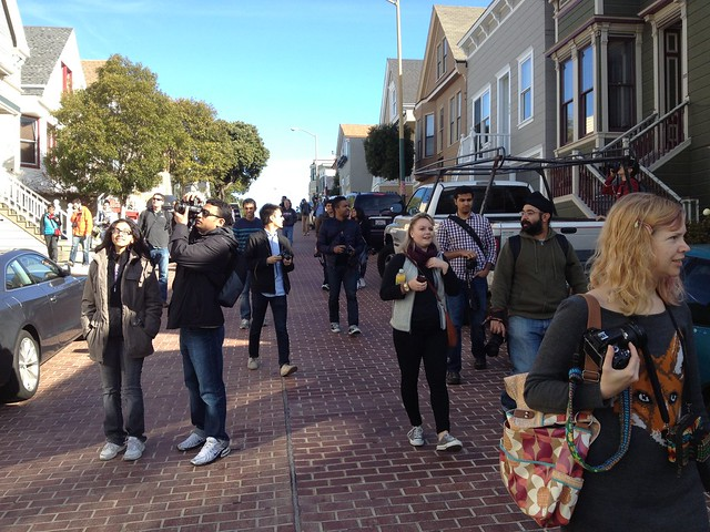 Walking Bernal Heights with #sfflickrmeetup
