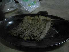 chinese bbq - Enokitake