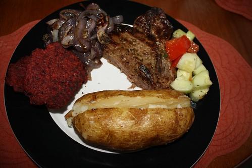 2011 08 Steak Dinner