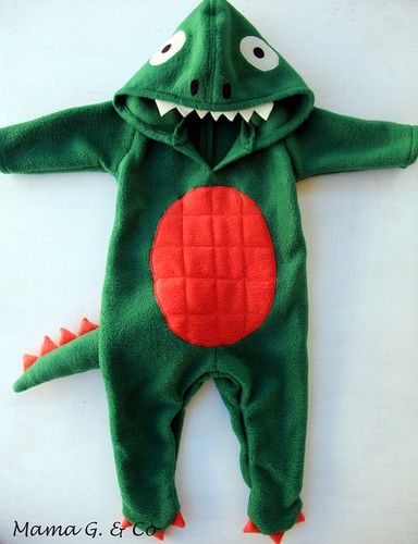 The Train To Crazy: DIY Baby Dinosaur Costume