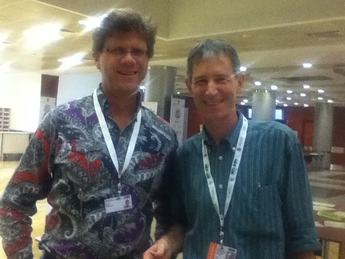 Ron and Oliver at #COP11