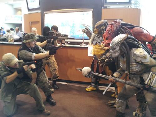 Troops Vs Predator
