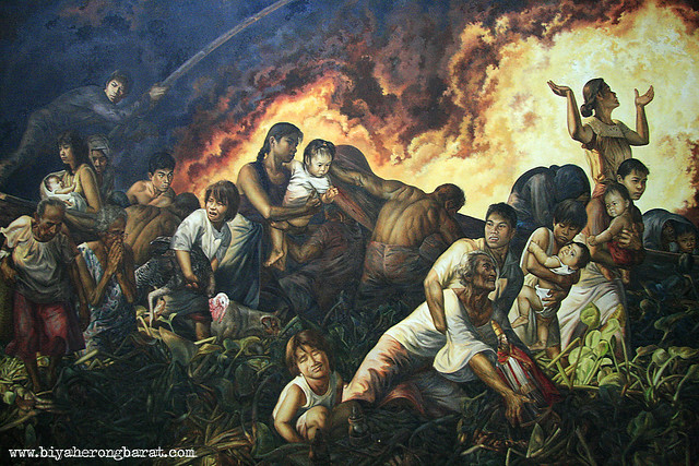 burning of angono jose pitok blanco museum