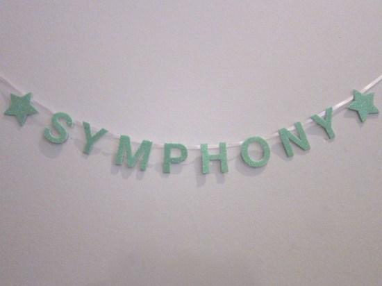 Symphony Mini Banner