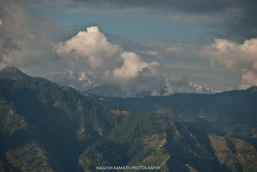 View of HImalayan peaks