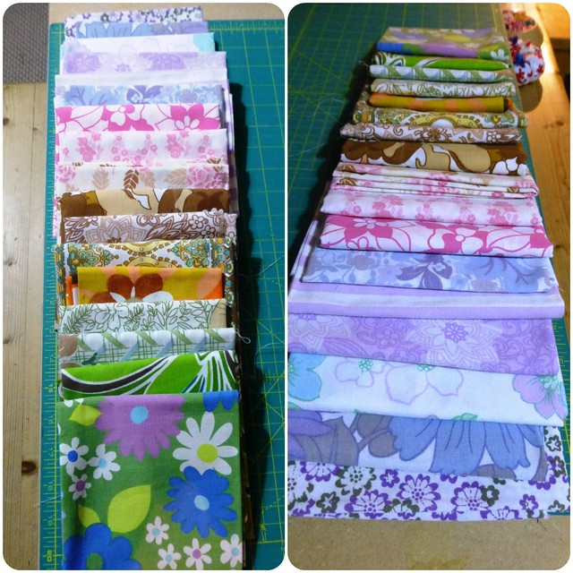 Vintage Sheets FQ Swap Jan13