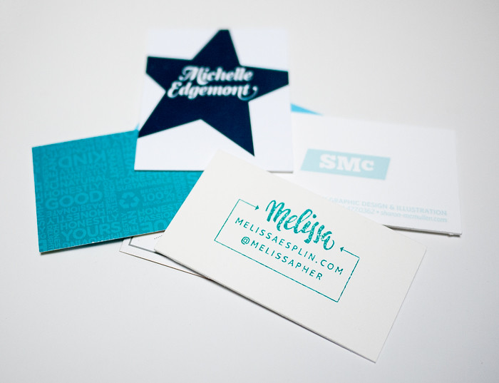 Alt Summit Business Cards 2013 - Blue Pile