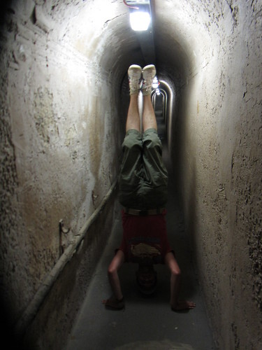 15. olivers hill tunnels headstand