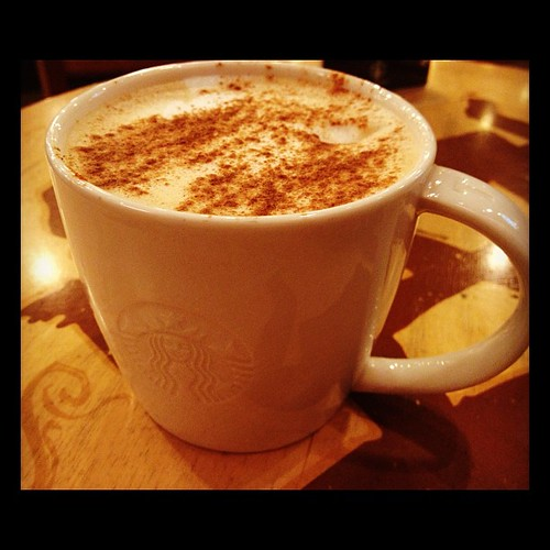 lullaby cappuccino bfore bed time #starbucksnomad #norecipejuststory