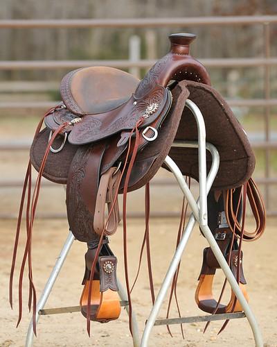 Circle Y Walnut Grove Flex2 Trail Saddle for sale