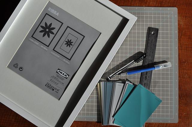 Paint Chip Art Supplies