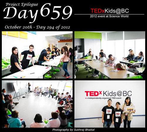 Day 659 - TEDxKids@BC 2012 by SukhrajB