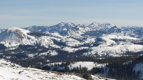 Snowshoeing at Carson Pass
