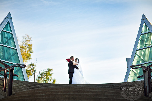 Wedding Photos at UNBC