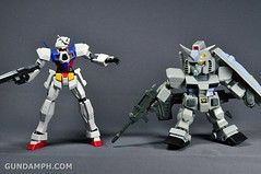 SDGO RX-78-2 (G3 Rare Color Variation) Unboxing & Review - SD Gundam Online Capsule Fighter (43)