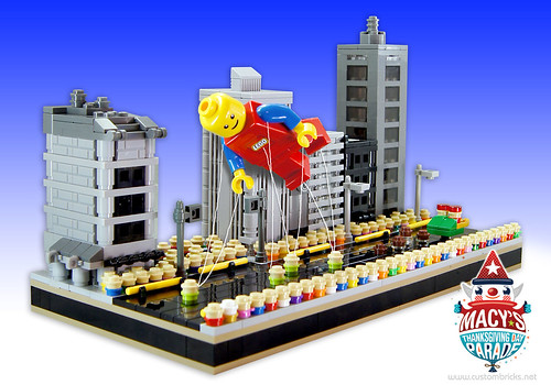 Lego Macy's Thanksgiving Day Parade