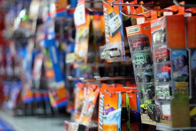 Sunday: Warehouse Toy Section