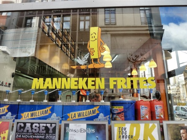 Manneken y belgian fries